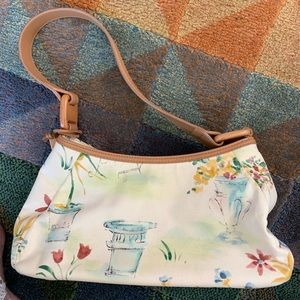 Darling hobo canvas bag by Fossil